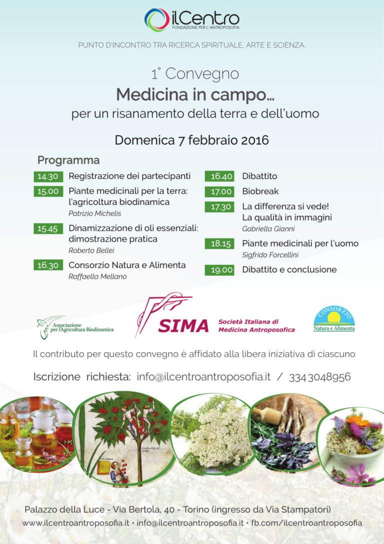 "Convegno ""Medicina in campo"" 2016"