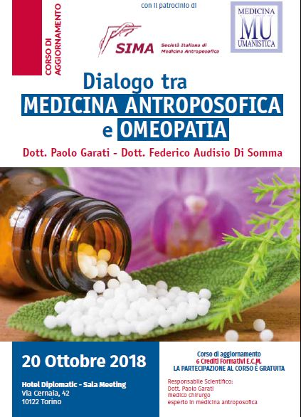 Medicna antroposofica e omeopatia: dialogo possibile. Dr. Garati