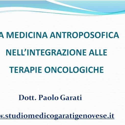 medicina antroposofica oncologia