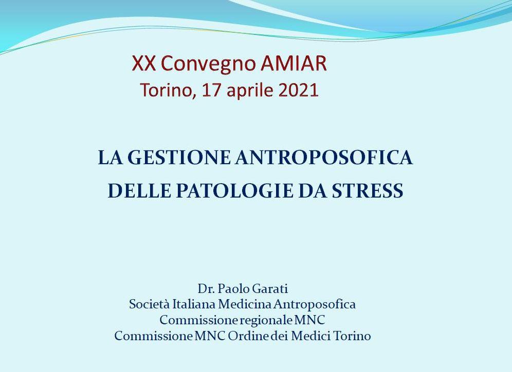 Medicina antroposofica e stress